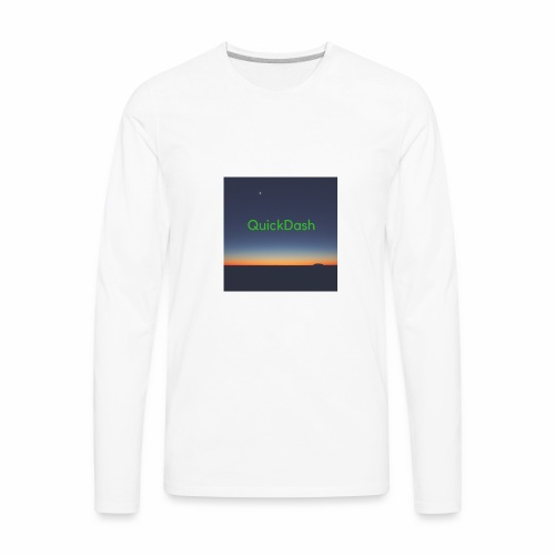 QuickDash Merch - Men's Premium Long Sleeve T-Shirt