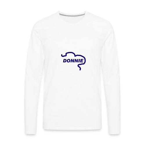 Donnie - Men's Premium Long Sleeve T-Shirt