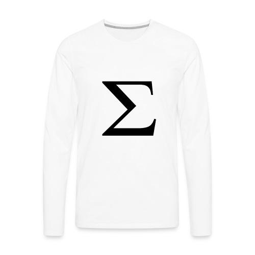 Greek Letter - Men's Premium Long Sleeve T-Shirt