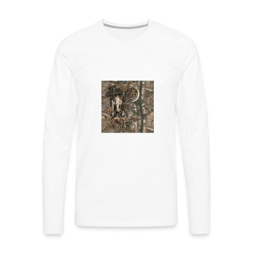 Deer View - Men's Premium Long Sleeve T-Shirt
