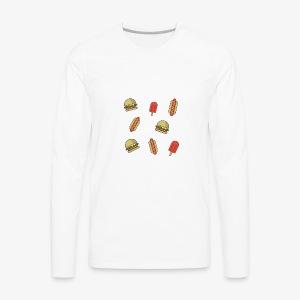 Junk food - Men's Premium Long Sleeve T-Shirt