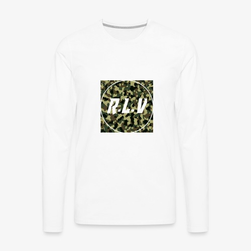 River LaCivita Camo. - Men's Premium Long Sleeve T-Shirt