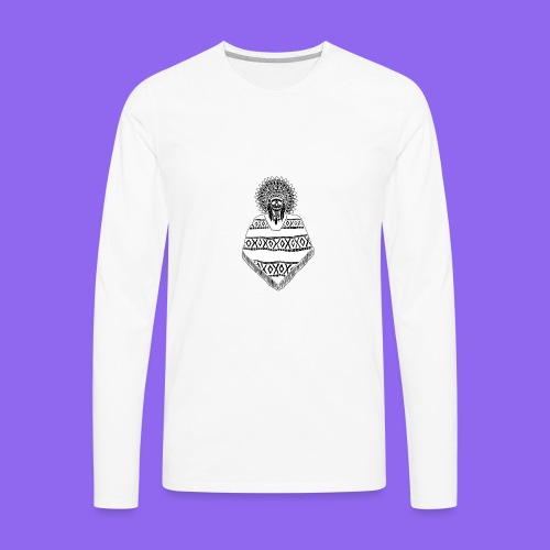 Chief Spooky inverted - Men's Premium Long Sleeve T-Shirt