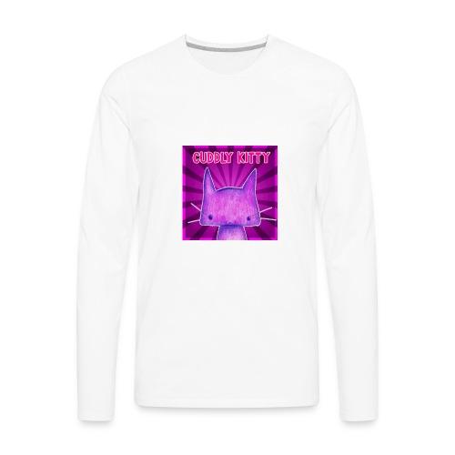 CuddlyKitty Picture - Men's Premium Long Sleeve T-Shirt