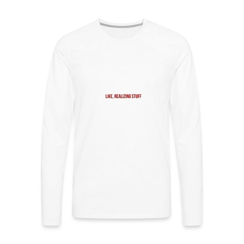 The Kylie Shop Diy Inspired T Shirt - Men's Premium Long Sleeve T-Shirt