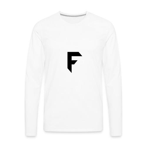 Frosted Technology Logo - Men's Premium Long Sleeve T-Shirt
