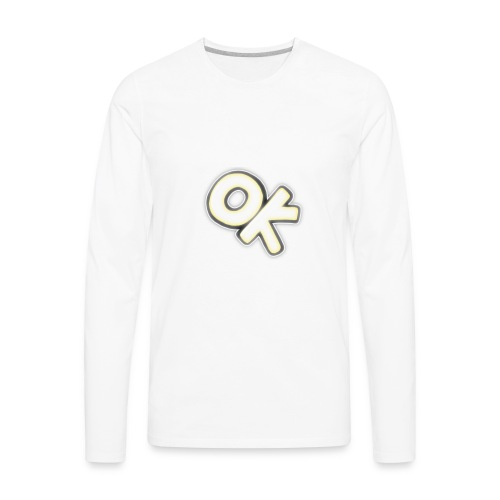 ok - Men's Premium Long Sleeve T-Shirt