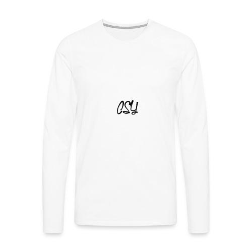 Csy OG Logo - Men's Premium Long Sleeve T-Shirt