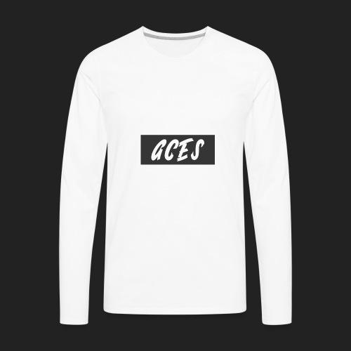 Aces Box Logo - Men's Premium Long Sleeve T-Shirt