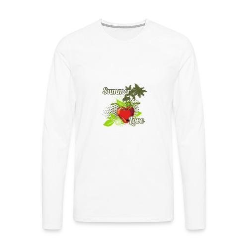 summer love - Men's Premium Long Sleeve T-Shirt