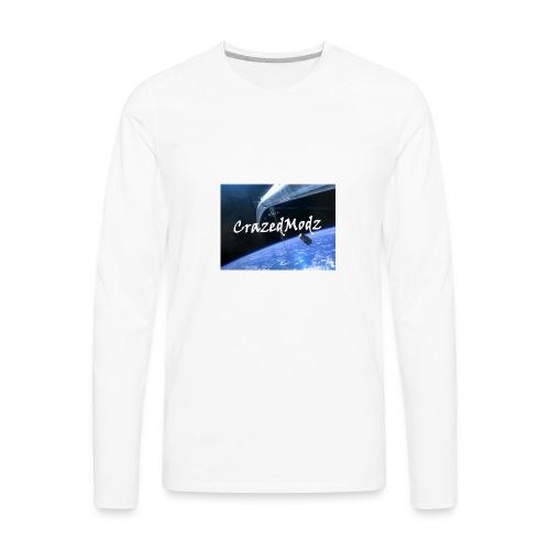 CrazedModz Space design! - Men's Premium Long Sleeve T-Shirt