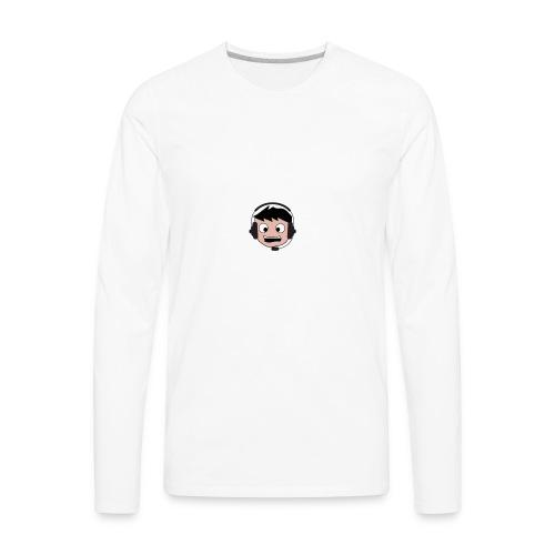 Cringentary Logo - Men's Premium Long Sleeve T-Shirt