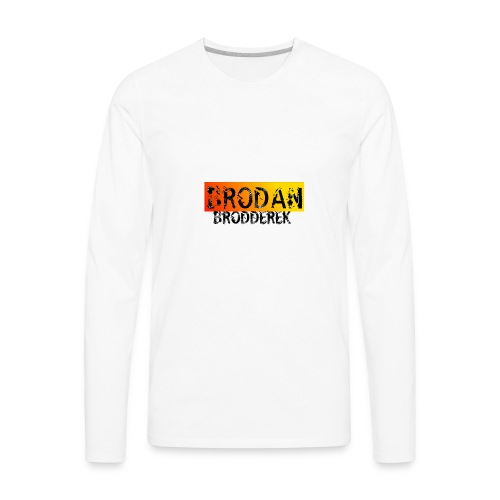 Brodan - Men's Premium Long Sleeve T-Shirt