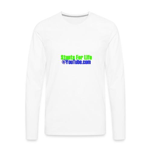 stunts for life - Men's Premium Long Sleeve T-Shirt