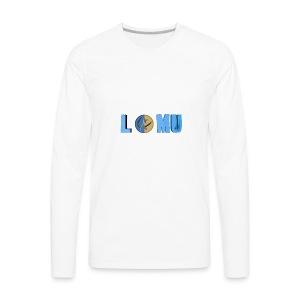 Blue T or CT - Men's Premium Long Sleeve T-Shirt