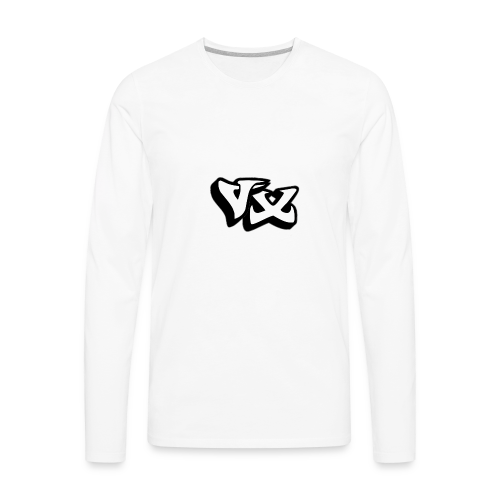 VorteX Emblem - Men's Premium Long Sleeve T-Shirt