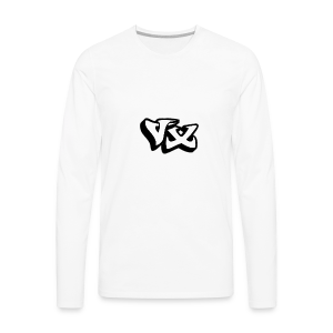 VorteX Emblem - Men's Premium Long Sleeve T-Shirt