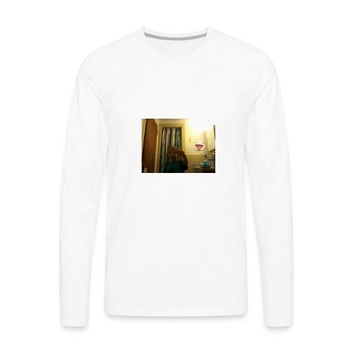 Jared In The Bathroom - Men's Premium Long Sleeve T-Shirt