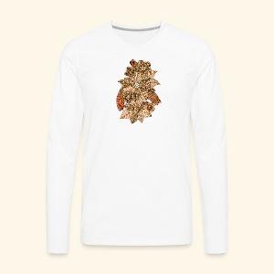 Flowers 4 - Men's Premium Long Sleeve T-Shirt