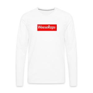 WeeseRaps Supreme Design - Men's Premium Long Sleeve T-Shirt