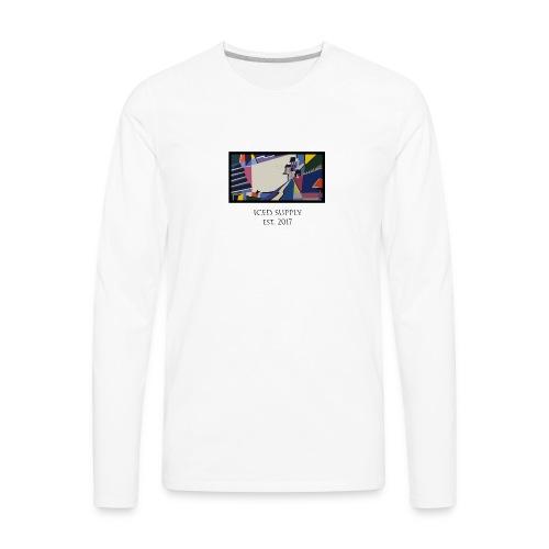 Lake House Design - Men's Premium Long Sleeve T-Shirt