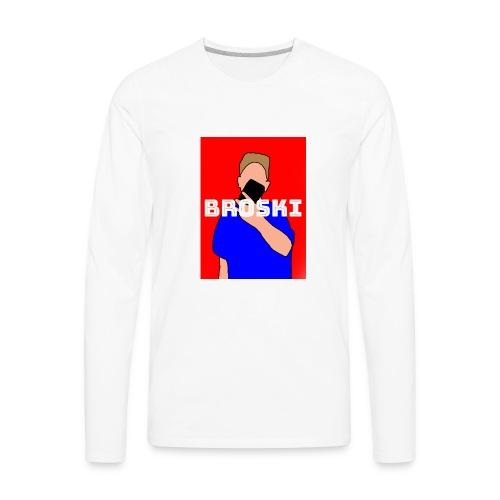 Broski merch - Men's Premium Long Sleeve T-Shirt
