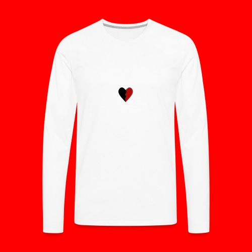 lil hearts (2lit clothing) - Men's Premium Long Sleeve T-Shirt