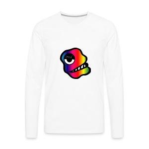 HeadsmokeMotif - Men's Premium Long Sleeve T-Shirt