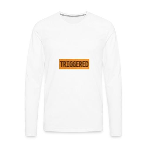 TRIGGERD - Men's Premium Long Sleeve T-Shirt