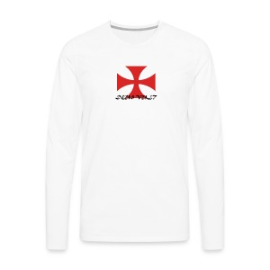 Knyght Clothing - Templar line - Men's Premium Long Sleeve T-Shirt