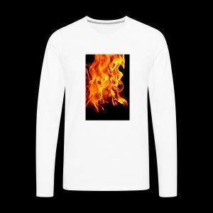 IMG f1r3 - Men's Premium Long Sleeve T-Shirt