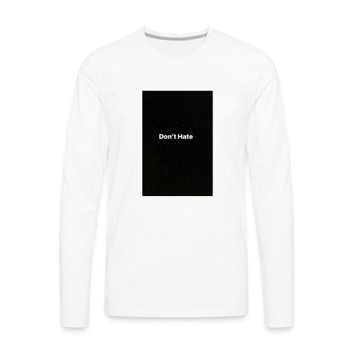 1668BA1A 2D05 4AD6 A214 2AAFB65F9916 - Men's Premium Long Sleeve T-Shirt