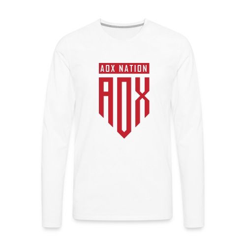 A0XNATION EMBLEM - Men's Premium Long Sleeve T-Shirt