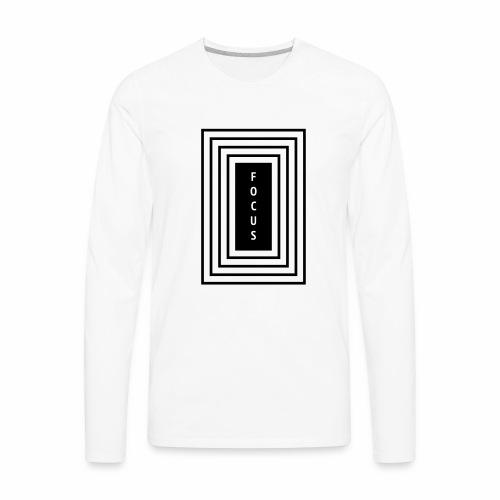 Focus - Men's Premium Long Sleeve T-Shirt