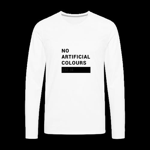 BLOCK  - Men's Premium Long Sleeve T-Shirt
