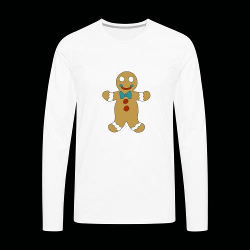 Gingerbread Man - Men's Premium Long Sleeve T-Shirt