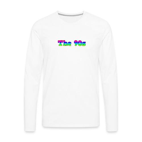 Kevinb 90s album Merch - Men's Premium Long Sleeve T-Shirt