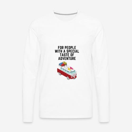 volkswagengraveyard designs - Men's Premium Long Sleeve T-Shirt