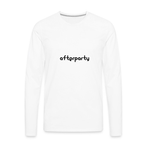 Afterparty - Men's Premium Long Sleeve T-Shirt