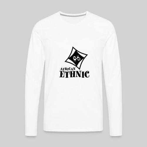 African ethnic - Men's Premium Long Sleeve T-Shirt