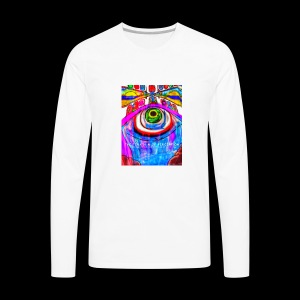 Fountain of Perception - Men's Premium Long Sleeve T-Shirt