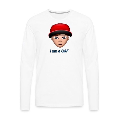 I am a GAF - Men's Premium Long Sleeve T-Shirt