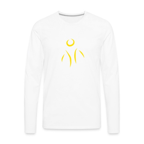 Little Survivors Support Logo - Men's Premium Long Sleeve T-Shirt