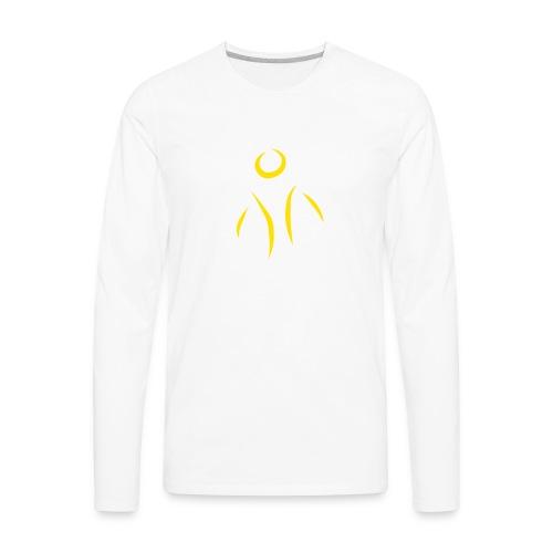 Little Survivors Support Logo - Men's Premium Long Sleeve T-Shirt