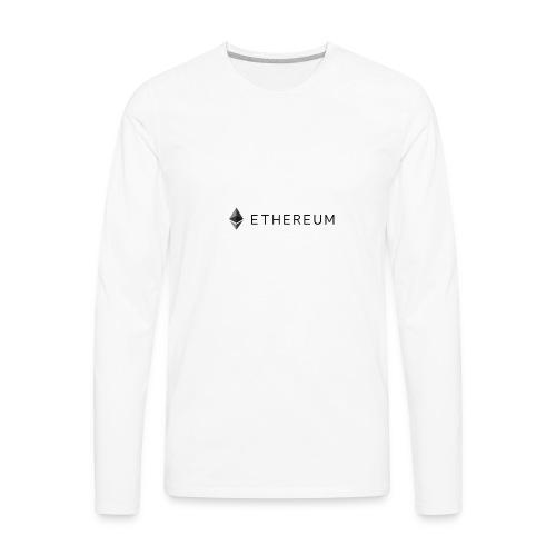 Ethereum - Men's Premium Long Sleeve T-Shirt