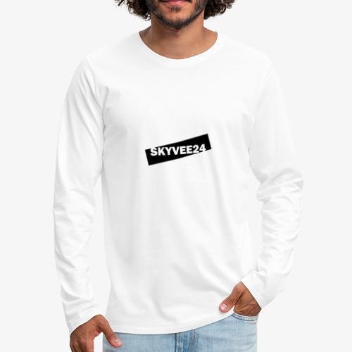 White Edition - Men's Premium Long Sleeve T-Shirt