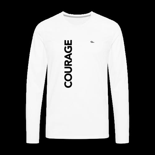 Courage - Men's Premium Long Sleeve T-Shirt