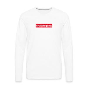 Snatch Gang Merch - Men's Premium Long Sleeve T-Shirt