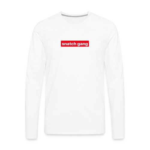 Snatch Gang Merch - Men's Premium Long Sleeve T-Shirt