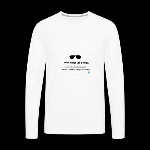 Trojan - Men's Premium Long Sleeve T-Shirt